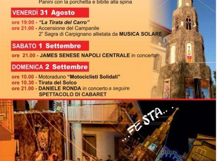 Festività in Onore di Maria SS. di Carpignano